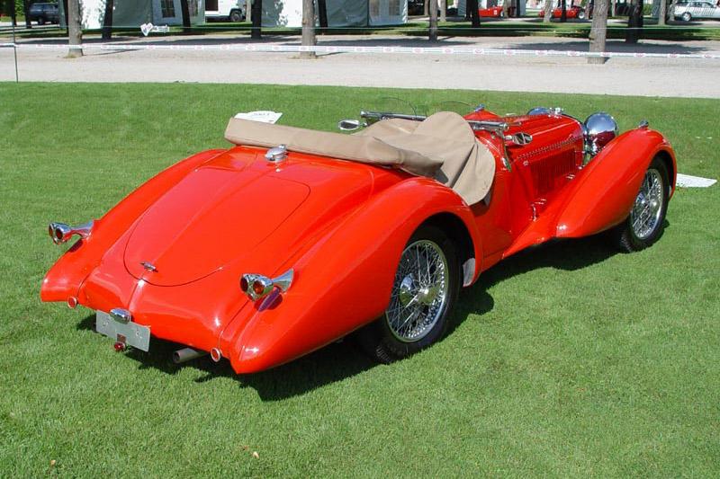 Jaguar SS100 1936 Saoutchik