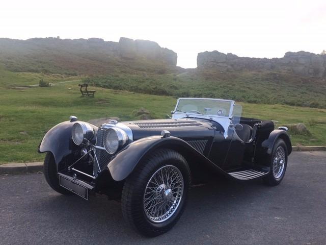 Jaguar SS100 1936