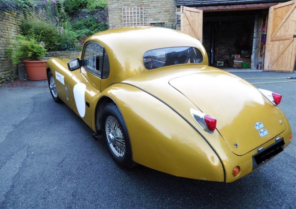 Jaguar 1954 XK120 FHC
